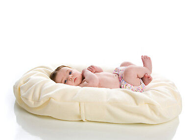 Snuggle Me Organic Ivory Cotton Fleece EXTRA COVER