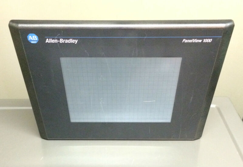 Allen Bradley 2711-t10c1l1 /d Panelview 1000 Color/touch/rio/rs-232-printer/dc
