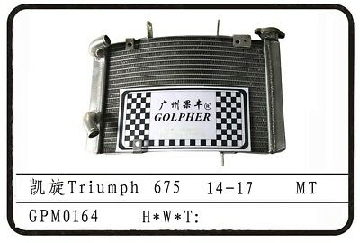TRIUMPH STREET TRIPLE 675 R 14-17 PERFORMANCE RACING RADIATOR