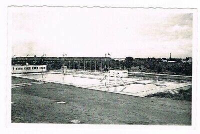 """CPA n&b Wetteren - Zwembad 'DE Warande"""""""