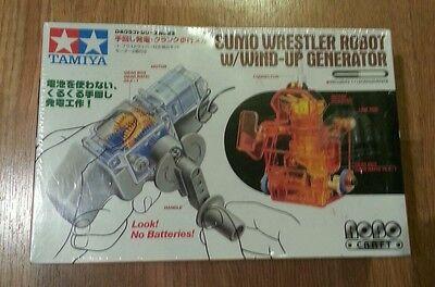 Tamiya 71123 Sumo Wrestler Robot W/Wind-Up Generator (Wind Up Wrestlers)