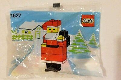 Rare Vintage Lego Legos Santa Clause Figure 1980s 80s NIP New #1627 Christmas