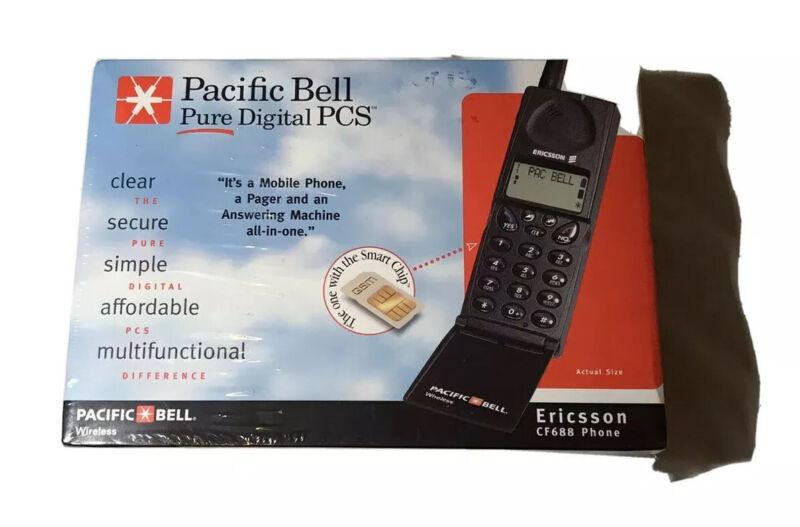 Vingtage 1998 Pacific Bell Ericsson CF688 Bundle New Factory Sealed