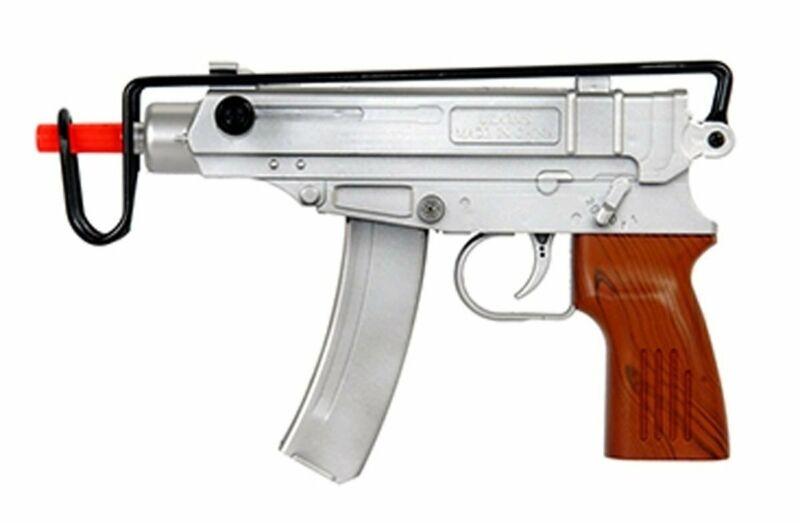 Double Eagle Spetsnaz Uzi Spring Powered Airsoft Gun Tactical 6mm Pistol