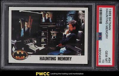 1989 Topps Batman Haunting Memory 94 PSA 10 GEM MINT - $35.00