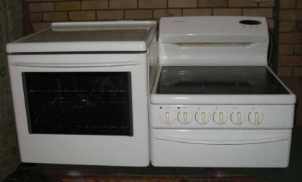 elevated   benchtop  westinghouse fan froced  stove oven