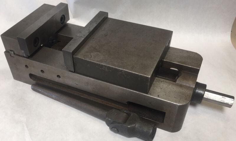 "Kurt II Type CNC Milling Vise 6"" with Kurt Handle."