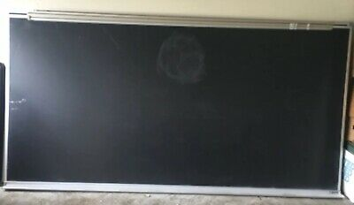 Universal Heavy Duty Large Dry Erase Black Board 96 X 48 With Aluminum Frame