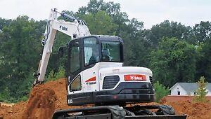 2013 Bobcat E85 Excavator w/thumb $95,000