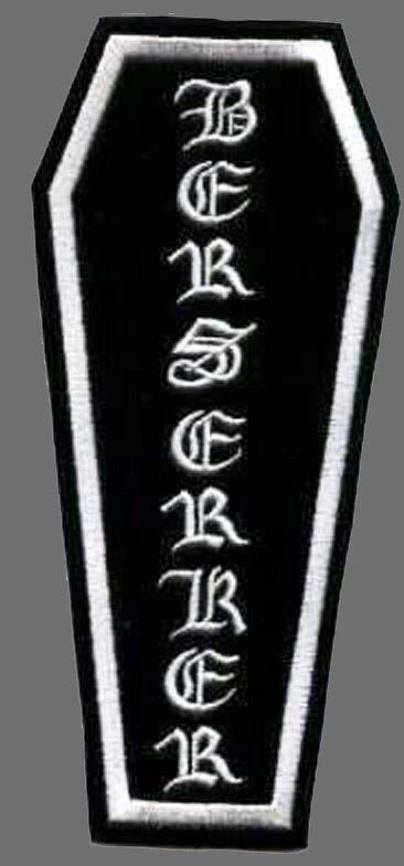 BLACK LABEL SOCIETY BERSERKER NEW ZAKK WYLDE 7.5 inch PATCH