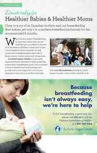 Breastfeeding support network through La Leche League Cornwall Cornwall Ontario image 1