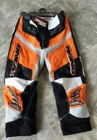 "Childs 22""waist O'Neil motorcross trousers"