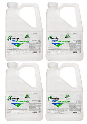 RoundUp Pro Concentrate Herbicide 50.2% Glyphosate - (4 X 2.5 Gallon Jugs)