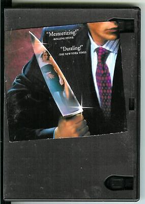 AMERICAN PSYCHO, used movie DVD, 2000, serial killer crime, Christian Bale - Psycho Serial Killer Movies