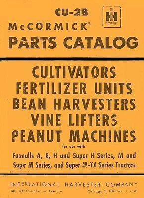 International Mccormick B-44-c Bn-44-c Hm-33 44 47 53 -c Fertilizer Parts Manual