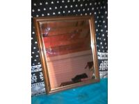 Nicely Framed Pine Mirror for sale.