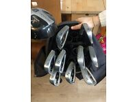 Golf clubs (and bag)