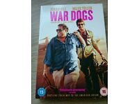 War dogs DVD and UV code brand new