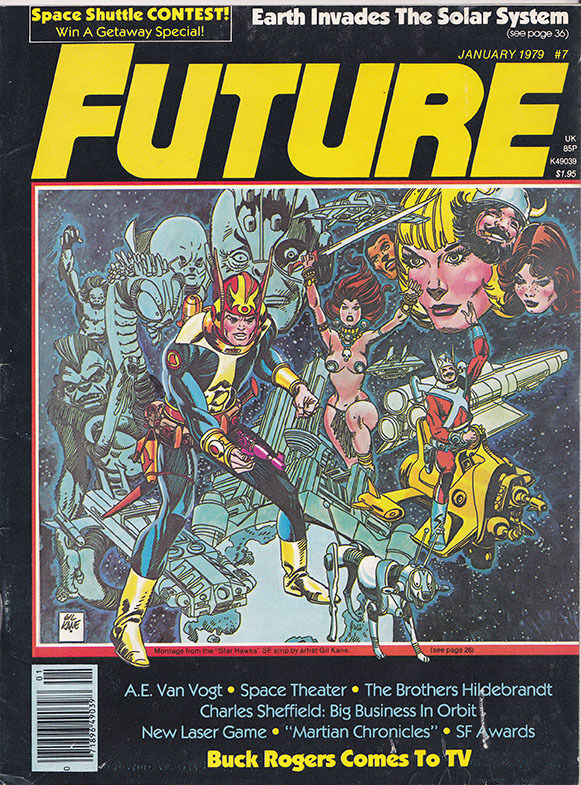 Future Magazine #7 January 1979 Buck Rogers, Martian Chronicals, A.E. Van Vogt