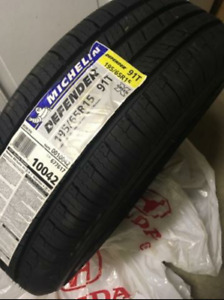 195/65/15 - 4 BRAND NEW Michelin Defender Tires