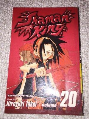 SHAMAN KING HIROYUKI TAKEI JAPANESE ANIME MANGA BOOK VOL.20
