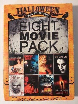Halloween Movie Night 8 Movies On Dvd Prom Night The Nurse - Halloween Night The Movie
