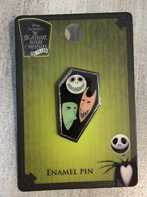 Disney Loungefly Pin The Nightmare Before Christmas Lock Shock Barrel in Coffin](Halloween Lock In)