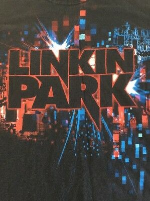 Linkin Park T Shirt Vintage Original Large Black