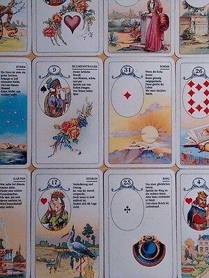 Lenormand Wahrsagekarten Kartendeck Kartenbox Kartenlegen
