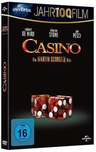 DVD - CASINO- ROBERT DE NIRO/ SHARON STONE/ JOE PESCI-   NEU & OVP