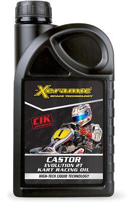 ( 21,80€/ LITRE) Xeramic Castor KARTING HUILE HUILE DE COURSE pour 2-Takt moteur