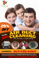 SPECIAL DUCT CLEANING WITH UNLIMITED VENTS IN JUST $100