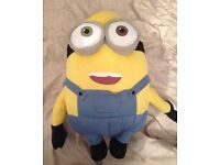 Big stuffed toy minion teddy despicable me