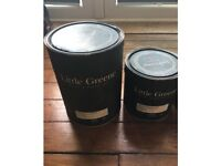 4 premium Interior paints - green, grey, lemony