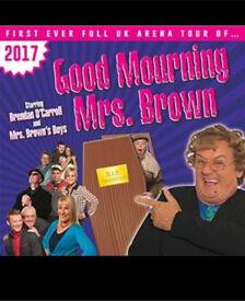 Live Mrs brown tickets