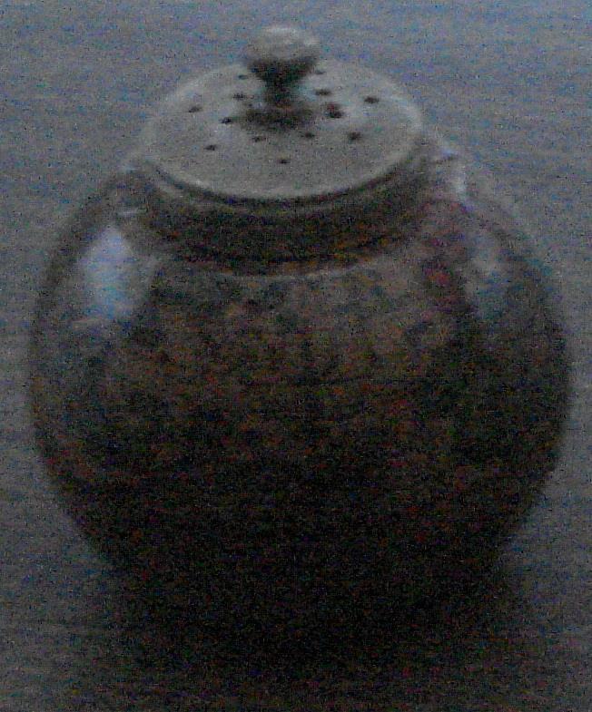Vintage World Globe Replica Salt Shaker, Metal Top, Plastic Insert, GOOD COND