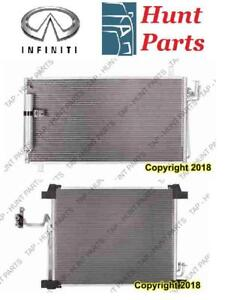 Infiniti AC compressor Condenser Radiator Support Fan Cooling Compresseur AC Condenseur Radiateur Support Ventilateur