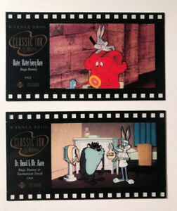 Mint Condition- 1996 UPPER DECK Looney Tunes Cards (Set of 2)