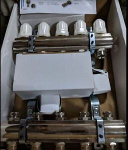 Wasser stainless steel manifolds for radiant floor