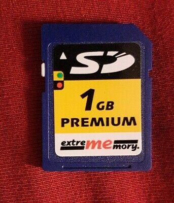 SDKarte 1GB extrememory