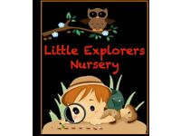 Little Explorers Nursery - Finsbury Park NOW OPEN