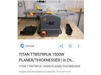 Titan 1500w planer