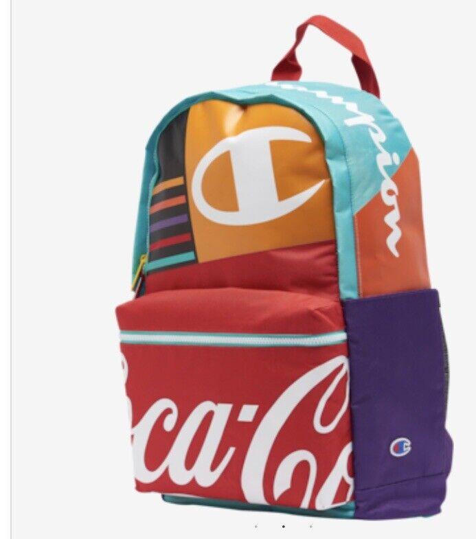 champion Coca Cola backpack