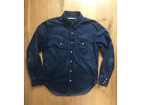 Levi's original sawtooth denim shirt. Medium