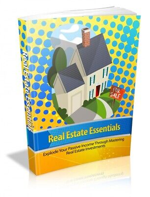 Real Estate Essentials E book Master Resell Rights + 10 Free Ebooks