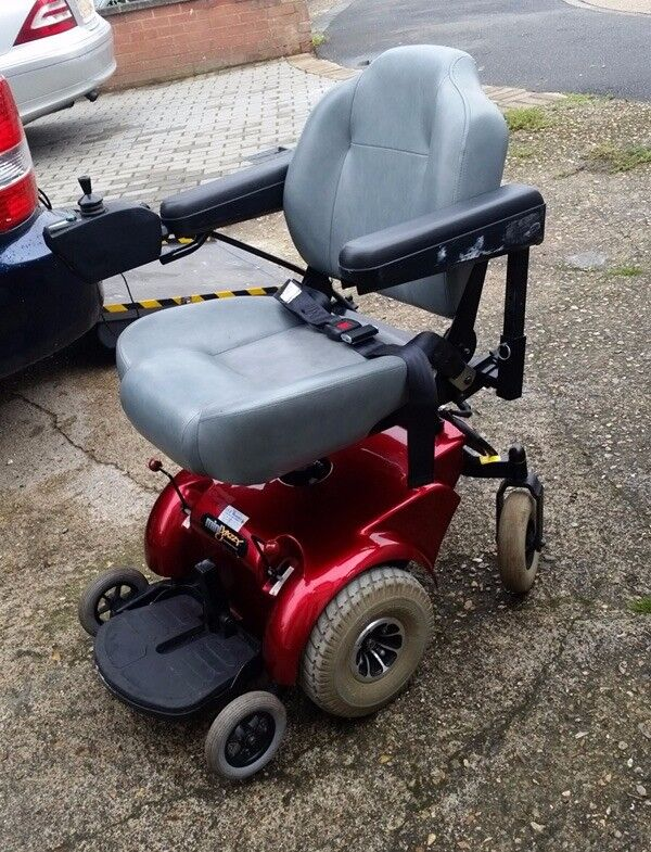 Electric Wheelchair Pride Mini Jazzy 1103 Portable in Good Cond only £370