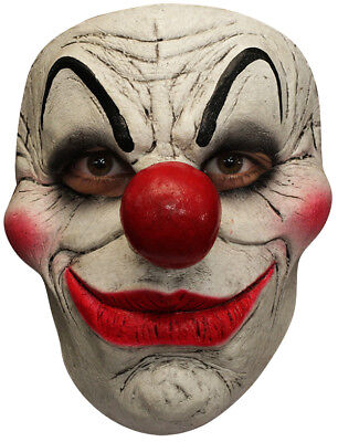 SMILEY THE CLOWN LATEX FACE MASK SCARY HALLOWEEN HORROR