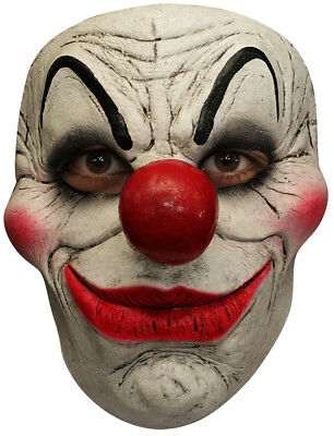 SMILEY THE CLOWN LATEX FACE MASK SCARY HALLOWEEN (Smiley Scary Maske)