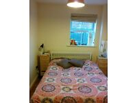Double bedroom with private bathroom in 2 bedroom flat in town centre in Newbury