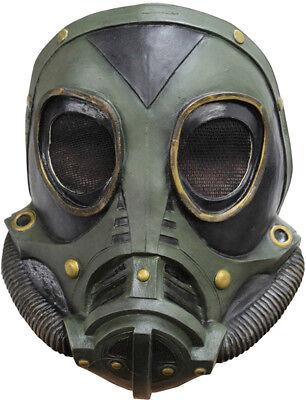 WW2 GAS MASK LATEX REPLICA M3A1 ROLE PLAY HALLOWEEN ()